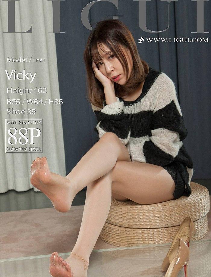 [Ligui丽柜]2018.05.01 Model Vicky[88+1P/76M]